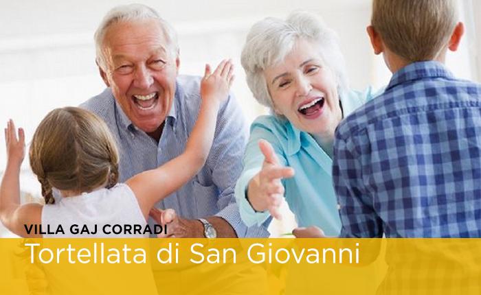 Tortellata di San Giovanni a Villa Gaj Corradi